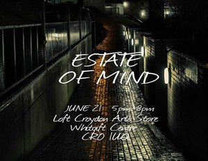 Opening day this Thursday! Till the 24th of June. Exciting times. #estateofmind #photographyexhibition #thingstodoinlondon #croydon #croydonartsstore